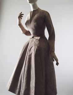 """La Cigale"" dress, fall/winter 1952–53