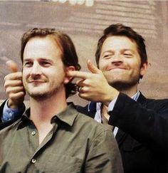 Misha torturing Richard
