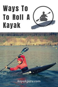 Rolling a kayak (also known as an Eskimo Roll) can be a tricky skill to master but it can also be a pretty useful one if you find yourself capsized in a sit-inside kayak. Kayaking Quotes, Kayaking Tips, Whitewater Kayaking, Kayak For Beginners, Beach Trip, Beach Travel, Boating Tips, Surfing Pictures, Adventure Activities