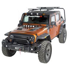 Buy Sherpa Roof Rack Kit, 4 Door; 07 16 Jeep Wrangler JKU At  Get4x4Parts.com For Only $ 992.14