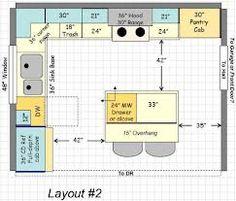 Best 12X12 Kitchen Floor Plans Kitchen Layouts Pinterest 400 x 300