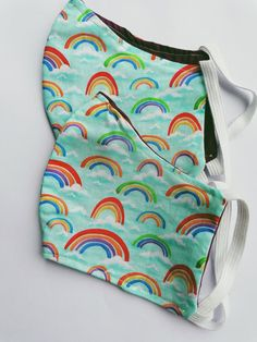 Den, Rainbow, Fabric, Cotton, Handmade, Rain Bow, Tejido, Rainbows, Tela