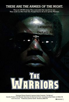 THE WARRIORS movie poster 1979