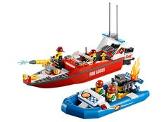 LEGO City Fire Boat