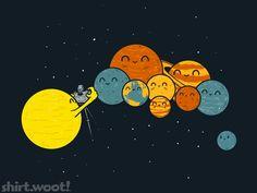 lenandpix:    Pobre Plutón…