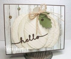 The Card Concept.....hello | It's a Stamp Thing | Bloglovin