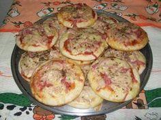 Receita de Mini Pizza Fácil