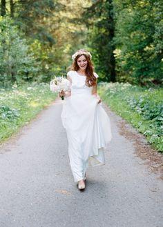 #vintage inspired #Bride Photography by birgithart.com, Florals by http://www.tanjawillmann.de  Read more - http://www.stylemepretty.com/2013/08/23/german-wedding-from-birgit-hart/