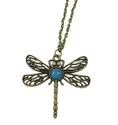Classic Vintage Bronze Dragonfly Pendant Necklace Chain BeOne http://www.amazon.com/dp/B00V4H9TA0/ref=cm_sw_r_pi_dp_mBEpvb0Z1F8TG