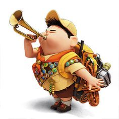 Up Pixar, Disney Pixar Up, Disney Animation, Cub Scouts, Girl Scouts, Russel Up, Up The Movie, Scout Activities, Scout Camping