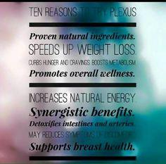 10 reasons to try Plexus!   #11- 60 day money back guarantee! No risk!   www.plexusslim.com/kellyg