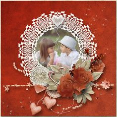 "JIRSEV scrap: ""A LOVE FOR ALL TIME"" by Angelique's Scraps"