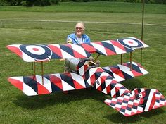 sopwith pup usa balsa | Al Horner's World War 1 RC Airplanes.