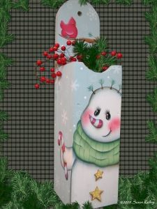 Puddles of Paint ~ View Winter/Christmas Packets
