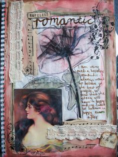Art Journal page by Melita Bloomer
