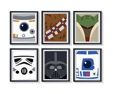 Ewok, Chewbacca, Girl Decor, Playroom Decor, Personalized Invitations, Luke Skywalker, Star Wars Art, Kids Bedroom, Boy Or Girl