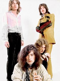 Led Zeppelin photographed by Ron Raffaelli, 1969.: