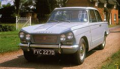1966 Triumph Vitesse Saloon - Mine was an A reg, so 1963 Commercial Vehicle, Mk1, Car Car, Old Cars, Roads, Cars And Motorcycles, Vintage Cars, Jazz, 1960s