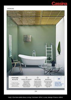 Italy   Corriere della Sera Living   October 2014   Luisa, design Franco Albini   Discover more on: http://cassina.com/it/collezione/sedie-e-poltroncine/832-luisa