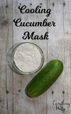 Cooling Cucumber Facial Mask | Everything Pretty