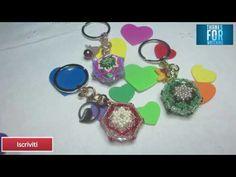 DIY: Riciclo creativo - Portachiave perlinoso idea regalo - YouTube