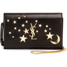 506ce2c1b82d Saint Laurent Monogram Flap Moon   Stars Wallet-on-Chain ( 1