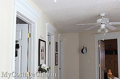 """""""MY  COTTAGE  CHARM""""  : How to Make a Hallway Sign,  Many beautiful home décor idea's"""