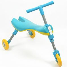 Kids' Tricycles - Bugatrike Toddler Foldable Trike Blue >>> Click image to review more details.