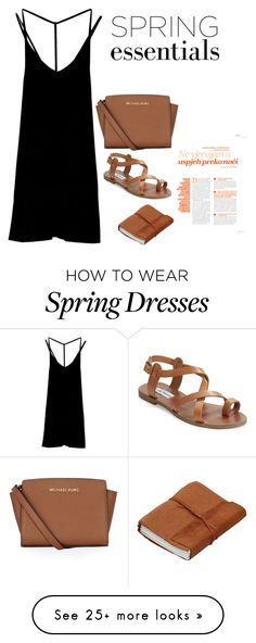 by meurves on Polyvore featuring RVCA, Steve Madden and MICHAEL Michael Kors