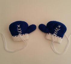Baby Boxing Gloves Royal Blue 3-6 Mos