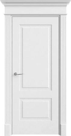 """Межкомнатные двери Белые, крашеные Модель """"Прима 2"""""""