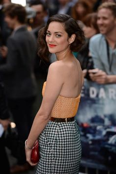 Marion Cotillard- one of the most beautiful women in Hollywood.
