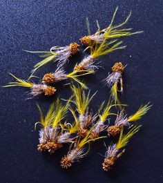 Retro Crippled Caddis - tie these up in size 14-18 (20 for the black caddis)