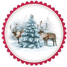 Christmas Dishes, Christmas Scenes, Christmas Clipart, Christmas Gift Tags, Christmas Printables, Christmas Pictures, Xmas Cards, Winter Christmas, Vintage Christmas