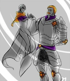Escanor And Merlin,Pride and Glutonny