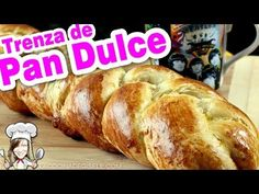 Homemade Sweet Bread Braid Recipe for a soft bread dough Homemade Sweet Bread Braid Recipe for a soft bread dough Giseles Kitchen Authentic Mexican Recipes, Mexican Food Recipes, Bread Recipes, Baking Recipes, Salvadorian Food, Mexican Bread, Venezuelan Food, Braided Bread, Pan Bread