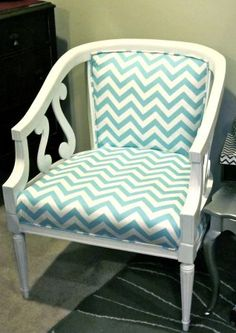 Refinished set of Unique Vintage Chairs