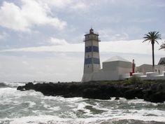 Faro de Santa Marta en Cascais #Portugal #viajes