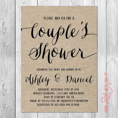 Old Photos Couples Wedding Shower Invitations Shower invitations