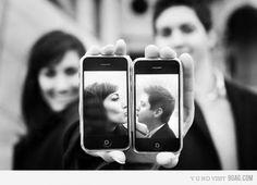 Dica de foto de casamento para quem não larga o celular! Maringá - PR