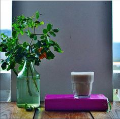 Coffee and a lovely book