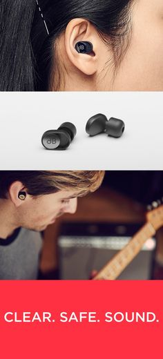 With an adjustable volume slider and acoustic filter, dBud earplugs give you a safer, clearer and more personal listening experience.