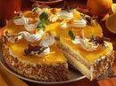 Haselnuss-Orangentorte
