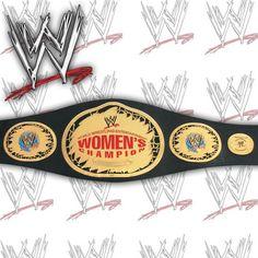 WWE WOMENS CHAMPIONSHIP MINI REPLICA WRESTLING BELT