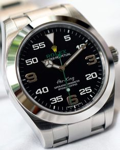 Air King  New 116900 Rolex AirKing  Cant wait to receive this!!! How do you like…