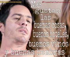 """Tengo mis mañas"" #FrasesDelChemaVenegas @mauochmann #ChemaVenegas #ESDLC @esdlctv #MauricioOchmann"
