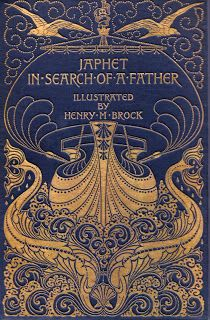 Beautiful Victorian book cover
