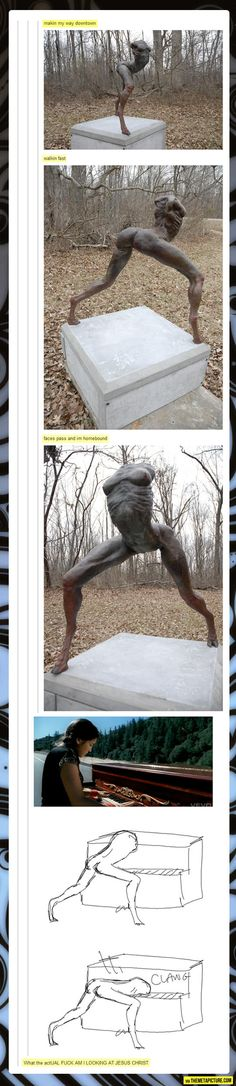funny-sculpture-hand-making-my-way