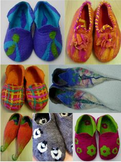 I love the slippers FELTING matters...