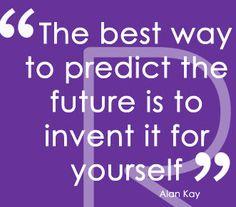 Joyce Schwarz is very fortunate in having met Alan Kay -- how fabulous is his quote!